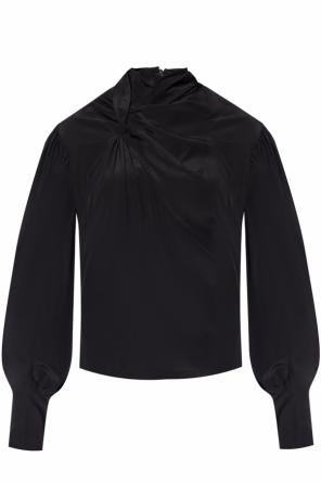 Tie-up silk top od Isabel Marant